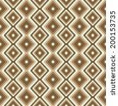 pixel modern geometric seamless ... | Shutterstock .eps vector #200153735