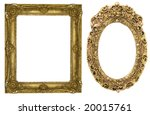 floral gold frames | Shutterstock . vector #20015761