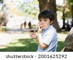 high key portrait happy boy...   Shutterstock . vector #2001625292