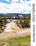Yellowstone  Wyoming  Usa  May...