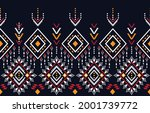 ethnic design abstract... | Shutterstock .eps vector #2001739772