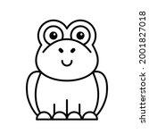 toad icon. icon design.... | Shutterstock .eps vector #2001827018