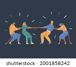 cartoon vector illustration of... | Shutterstock .eps vector #2001858242