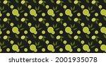seamless citrus vector pattern... | Shutterstock .eps vector #2001935078