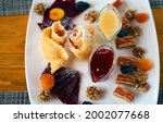 various sweets dried fruits ... | Shutterstock . vector #2002077668