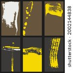 abstract graphic design banners ... | Shutterstock .eps vector #2002144838