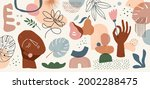 collection of abstract...   Shutterstock .eps vector #2002288475