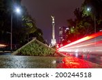 the angel of independence ... | Shutterstock . vector #200244518