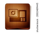 brown action extreme camera...   Shutterstock .eps vector #2002489445
