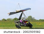 Ultralight Airplane On A...