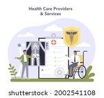 innovative healthcare industry...   Shutterstock .eps vector #2002541108