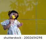 indonesian cute children with... | Shutterstock . vector #2002654298