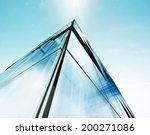 modern architecture. building... | Shutterstock . vector #200271086