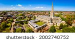 Aerial View Of Norwich...