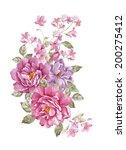 watercolor illustration ... | Shutterstock . vector #200275412
