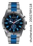 realistic watch clock...   Shutterstock .eps vector #2002789118