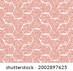 abstract geometric pattern with ... | Shutterstock .eps vector #2002897625