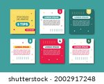 collection of minimalist social ...   Shutterstock .eps vector #2002917248