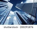 metropolis of shanghai's modern ... | Shutterstock . vector #200291876