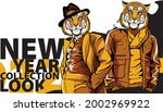 new year banner for a...   Shutterstock .eps vector #2002969922