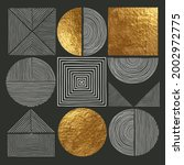 abstract minimalist wall art... | Shutterstock .eps vector #2002972775