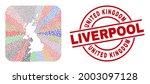 vector collage united kingdom... | Shutterstock .eps vector #2003097128
