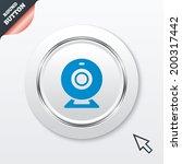 webcam sign icon. web video...