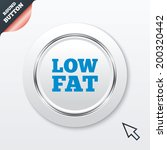 low fat sign icon. salt  sugar...