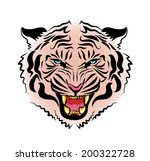 color vector drawing of the... | Shutterstock .eps vector #200322728