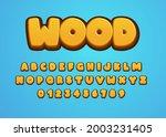 Cartoon Style Font Design....