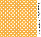 White And Orange Polka Dot...