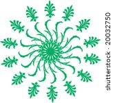 ornate pattern | Shutterstock .eps vector #20032750