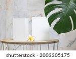 styled summer wedding desktop...   Shutterstock . vector #2003305175