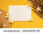 styled summer mockup. blank...   Shutterstock . vector #2003305178