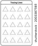 Slanting Lines Practice Sheet...