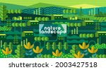 nature and landscape. vector... | Shutterstock .eps vector #2003427518
