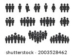 person group. people silhouette ... | Shutterstock .eps vector #2003528462