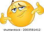 emoji emoticon proud of himself ... | Shutterstock .eps vector #2003581412
