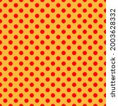 pop art  comic yellow and red...   Shutterstock .eps vector #2003628332