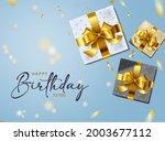 happy birthday vector... | Shutterstock .eps vector #2003677112
