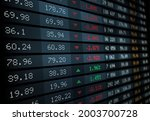 stock exchange board with...   Shutterstock .eps vector #2003700728