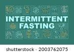 intermittent fasting diet word...