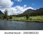 Soda Butte Creek Flowing...