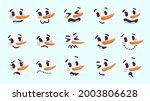 Snowman Facial Expressions....