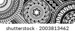 polynesian tattoo pattern maori ... | Shutterstock .eps vector #2003813462