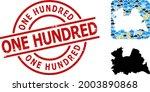 climate mosaic map of utrecht... | Shutterstock .eps vector #2003890868