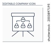 organization chart line icon.... | Shutterstock .eps vector #2003897195
