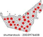 network polygonal map of united ...   Shutterstock .eps vector #2003976608