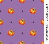 Pumpkin Watercolor Vector....