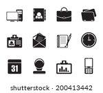 silhouette web applications... | Shutterstock .eps vector #200413442